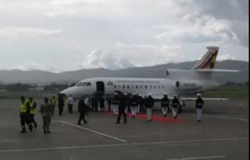 Evo llega a Panamá para la posesión de Laurentino Cortizo