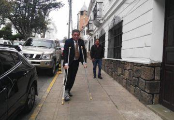 Caso Montenegro: Exmagistrados Nava y Hurtado declaran en la Fiscalía