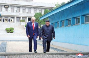 Trump y Kim reactivan diálogo con cita histórica
