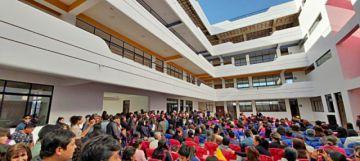 Inauguran infraestructura del colegio Montessori