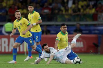 Brasil pasa a la final de la Copa América