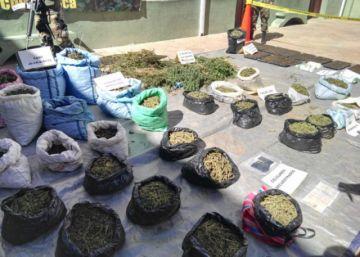 Sucre: Aprehenden a cinco personas por tráfico de drogas