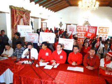 Oposición aún no revela nombres de candidatos