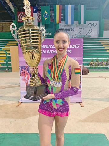 Bolivia, oro en gimnasia