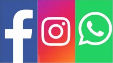 Reportan caída mundial de WhatsApp, Facebook e Instagram