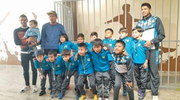 Los niños de la escuela abc  recibieron reconocimiento
