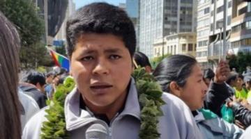 Franclin a los cocaleros: No voy a dar mi brazo a torcer mientras el Gobierno no nos escuche