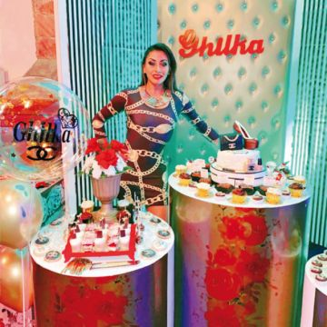 Ghilka celebró como se debe