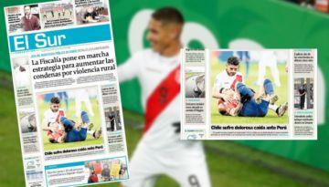 Así reaccionó la prensa peruana y chilena tras la épica de la selección incaica