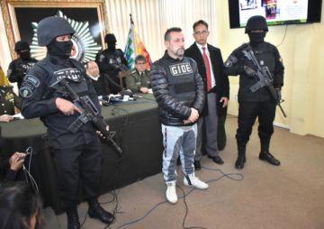 Atrapan a narcotraficante italiano que estaba fugado