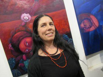 """Valentina Campos expone """"Mamalas, los espíritus de las semillas"""""""