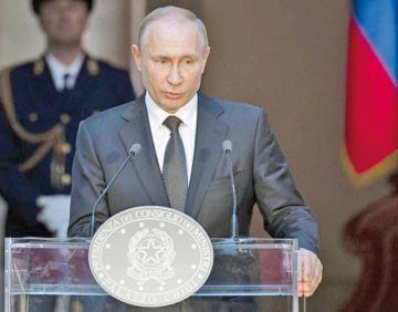 Putin agradece a Italia su postura sobre sanciones