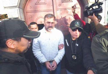 Exjefe vinculado a narco es remitido a Palmasola