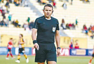 Gery Vargas será el cuarto árbitro para Argentina-Chile
