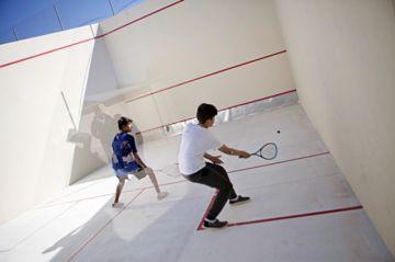 Squash recibe dos canchas oficiales