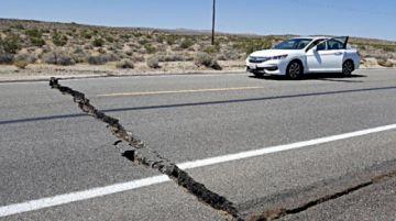 Segundo temblor sacude la región sur de California