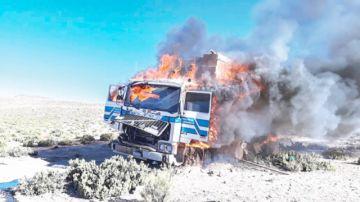 Contrabando: Convoy rompe un cerco militar