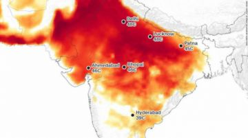India, donde el calor es una amenaza a la supervivencia