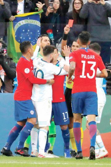 Argentina, al podio