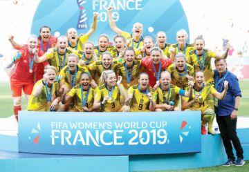 Suecia le gana a Inglaterra y termina tercera