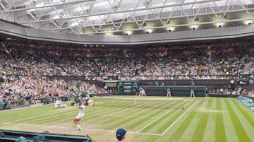 Wimbledon abre segunda semana con tres favoritos