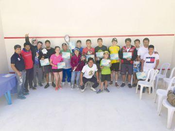 Squash renace en Sucre con nuevos campos deportivos