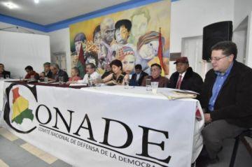 Conade apoya paro cruceño y anuncia otro nacional