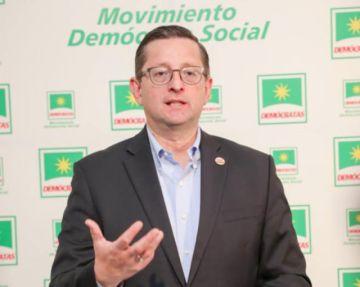 Ortiz ofrece incrementar el 10% del TGE a la salud