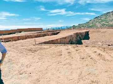 La Sala Constitucional va  a la mina en Villa Abecia