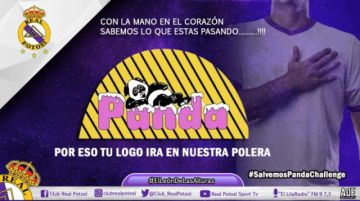 Real Potosí se suma al #PandaChallenge