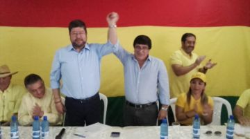 Carmelo Lens y Samuel sellan una alianza en Beni