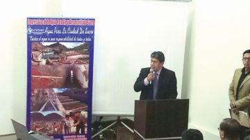 Alcalde anuncia gestión para presa de Tumpeca