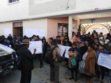 Dictan detención preventiva para el imputado por el feminicidio en Yamparáez