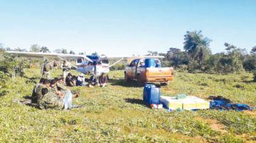 Decomisan avionetas de clan de narcos