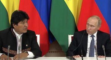 """Rusia muestra """"gran interés"""" de participar del tren bioceánico y el HUB de Viru Viru"""