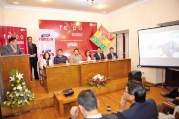 Lanzamiento de Fexpo Sucre 2019