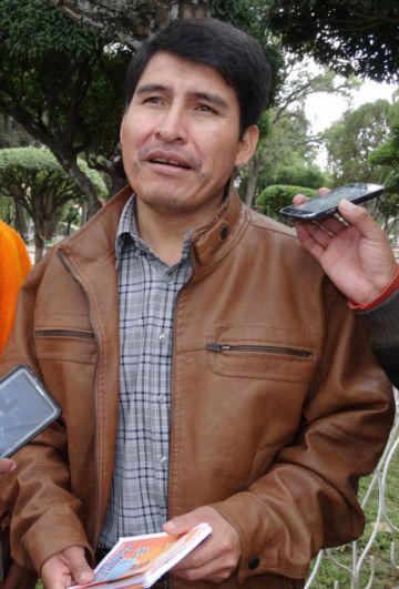 Damián Condori decide no participar de elecciones
