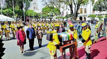 Sucre recuerda 180 años como capital de Bolivia