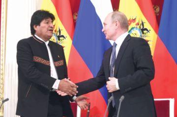 Rusia muestra interés por litio,  comercio, energía y transporte