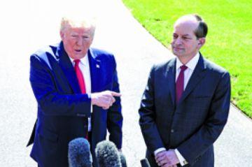 Dimite único latino del gabinete de Trump