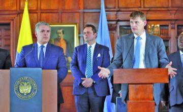 Colombia apela a la ONU por acuerdo de paz interno