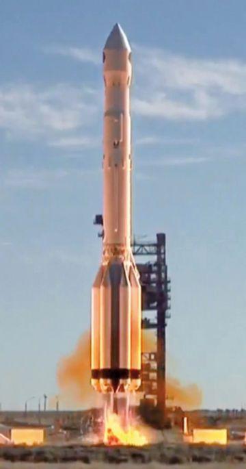 Rusia lanza con éxito  observatorio Spektr-RG