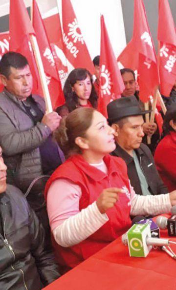 Pan-Bol descarta renunciar pese a pedido de la oposición