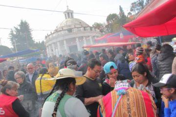 Centenares de fieles rinden homenaje a la Virgen del Carmen