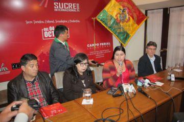 Las empresas del Estado  se suman a la Fexpo Sucre
