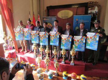 Lanzan los VIII Juegos Plurinacionales del Nivel Primario