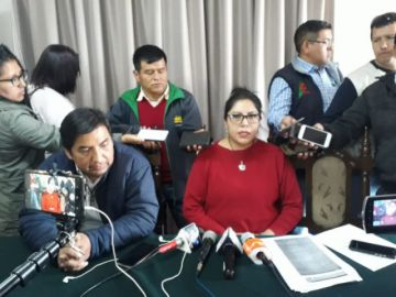 Médicos de Chuquisaca cumplen paro nacional