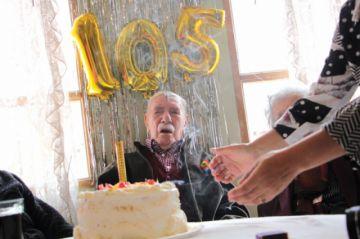 El último benemérito tiene 105 años de vida