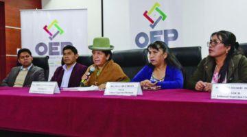 Diputado Santamaría advierte con una denuncia penal contra los vocales del TSE