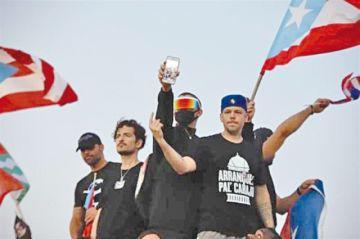 Polémica en Puerto Rico tras una masiva protesta